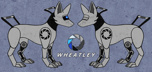 Wheatley Dog by spinnando