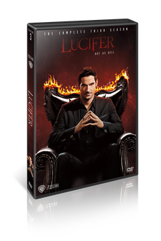 Lucifer S03 DVD Cover by szwejzi