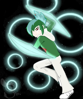 Gallade used Psycho Cut! by ShokiDeNai