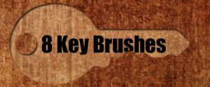 Photoshop Key Brushes by sdwhaven