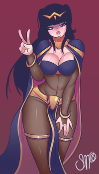 Commission - Tharja by SGTMADNESS