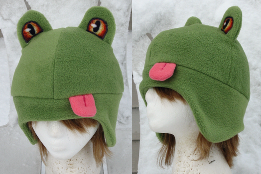 Frog Hat by clearkid