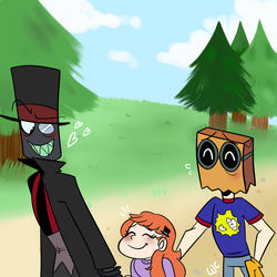 In the park(ART TRADE) by Waackery