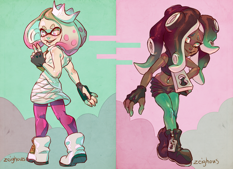 Pearl And Marina by Zeighous
