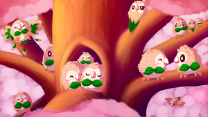 A Horde of Rowlet by QuietPigeon