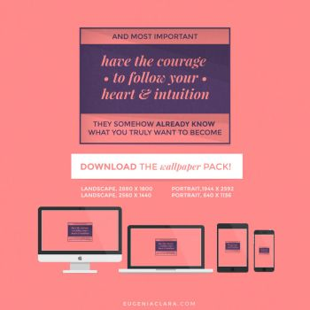 Heart + Intuition by eugeniaclara