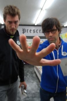 Rhett and Link at Butt Drugs 9 by aaron-tuell