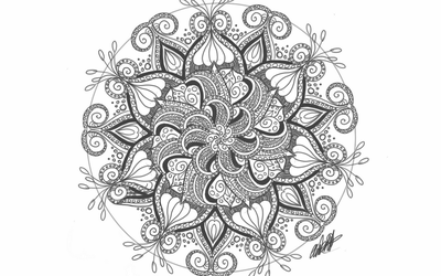 Day 25 - Mandala Design by bookwormy606