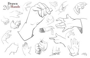 Study: 20 Hands by AM-Nyeht