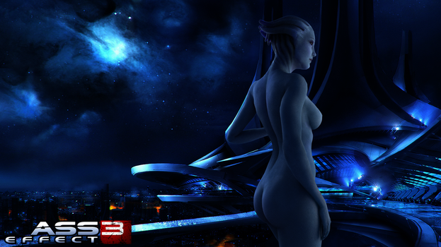 Liara Back by Apocca