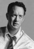 Tom Hanks by Eileen9