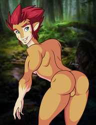 Dat Lion-O Booty - Commission by RatchetJak