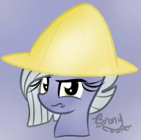 Limestone Pie In a Rice Hat (Commission) by Euphoriiah