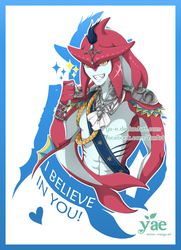[BotW] Prince Sidon believes in you! by Ya-e