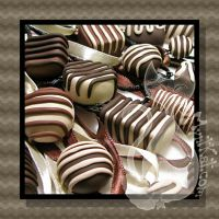 Chocolate Necklaces by MyntKat