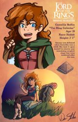 Camellia Boffin - Lord of the Rings OC by Saber-Cow