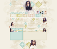 Layout ft Megan Fox by Andie-Mikaelson