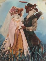 Robin Hood and Maid Marian by JoshuaOrro