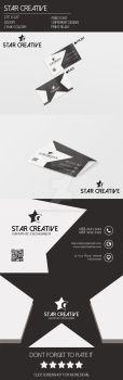 Creative Star Business Card by Hasyemi12