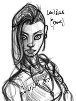 Young Lanaelle (WIP) by EvilPNMI