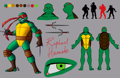 Raphael Hamato by Silver-Monster