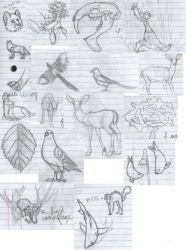 Nature Journal Doods by Dragimal
