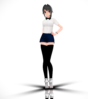 [MMD] Yandere Simulator - Ayano Casual N6 |DL by LiliArt1