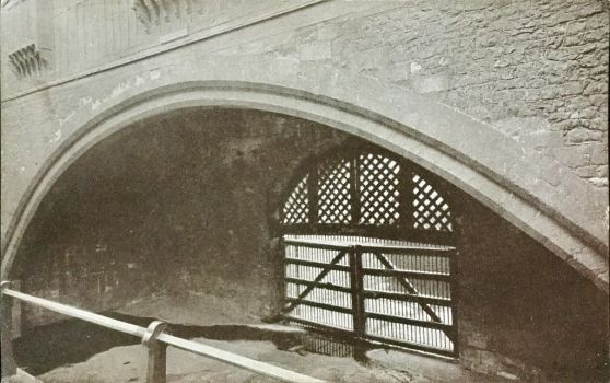 Tower of London - Traitors' Gate by Yesterdays-Paper