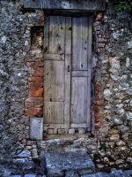 Old Door by TheDeb