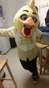 My Halloween Costume: Chica from FNAF by blackdog393