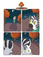 Zebra Crossing #87 by ccartdragon