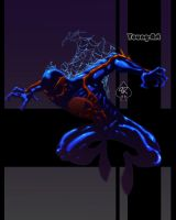 Spider-man 2099 Spade92 colour by ParisAlleyne
