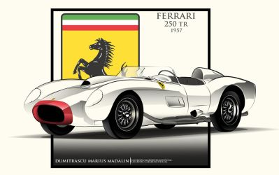 Ferrari 250 TR 1957 by MarisDesign