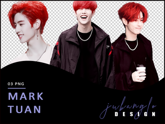 [GOT7] Mark Tuan - png by JuBangLo