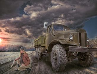 Truck by ditney