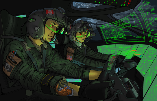 Tactical Airlift Command: Night Mission by KRONOMATIK
