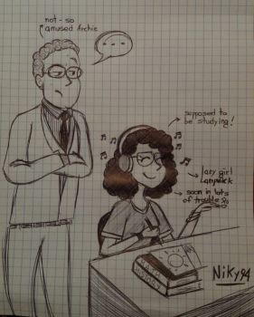 Archie Hopper and Niky by Niky94