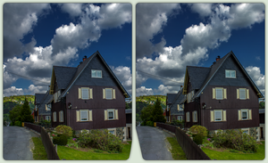 Klingenthal in the Vogtland 3-D / CrossView / HDR by zour