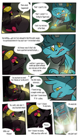 Mission 8: Page 13 (Present) by doodlesANDkyn