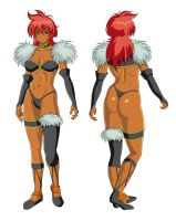 Jannet - Front And Back by Issei06