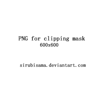 PNGs for Clipping Mask1 by sirubisama