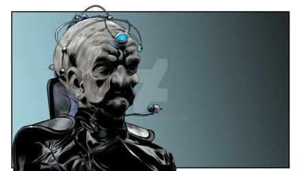 Davros - Michael Wisher. by jlfletch