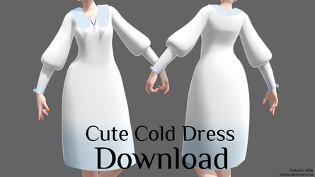 [MMD] Cute Cold Dress [DL] by YutoriA