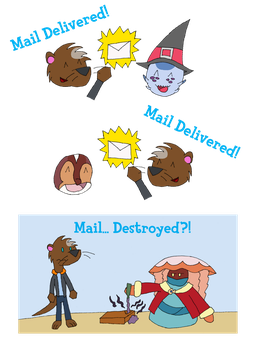 June Task - Mail Delivery by Inkweaver22