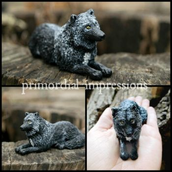 Black Wolf Totem by phacelia