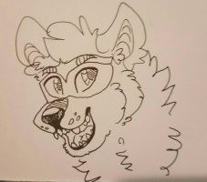 quick doodle of jackoon  by andie-lioness