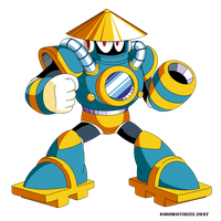 Tsunami Man (Mega Man Shattered Diamond) by KarakatoDzo