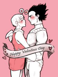 [VALENTINES SKETCHES] Vegebul_ Dragonball by MMHinman