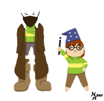 Yer a Wizard Chara by NakainRimmel