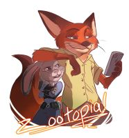 Zootopia by CharlotteSketches